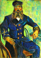 Van Gogh The Captain Painting - Study in Pastel