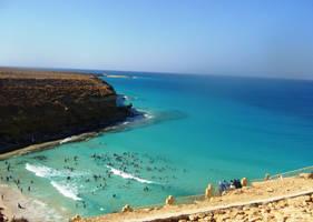 Agiba Beach - Egypt by Shaimaaelshatter