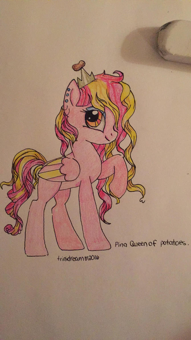 Pina- Curly hair by trinidream