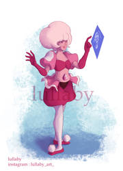 pink diamond by lullaby71