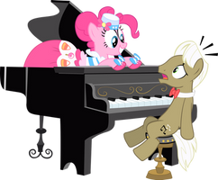 Pinkie Pie Piano Surprise by Sansbox