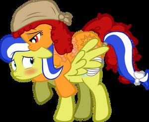 Smiles riding Lemon