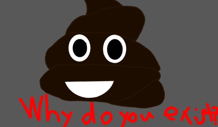 poop emoji by ilikechez123