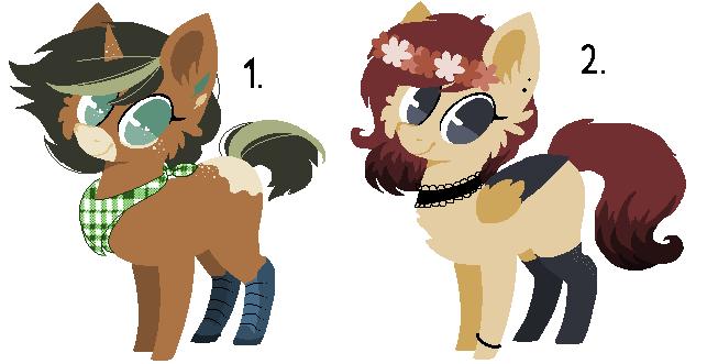 Pony Adopt #57 [ CLOSED] by LiszeueAdopts