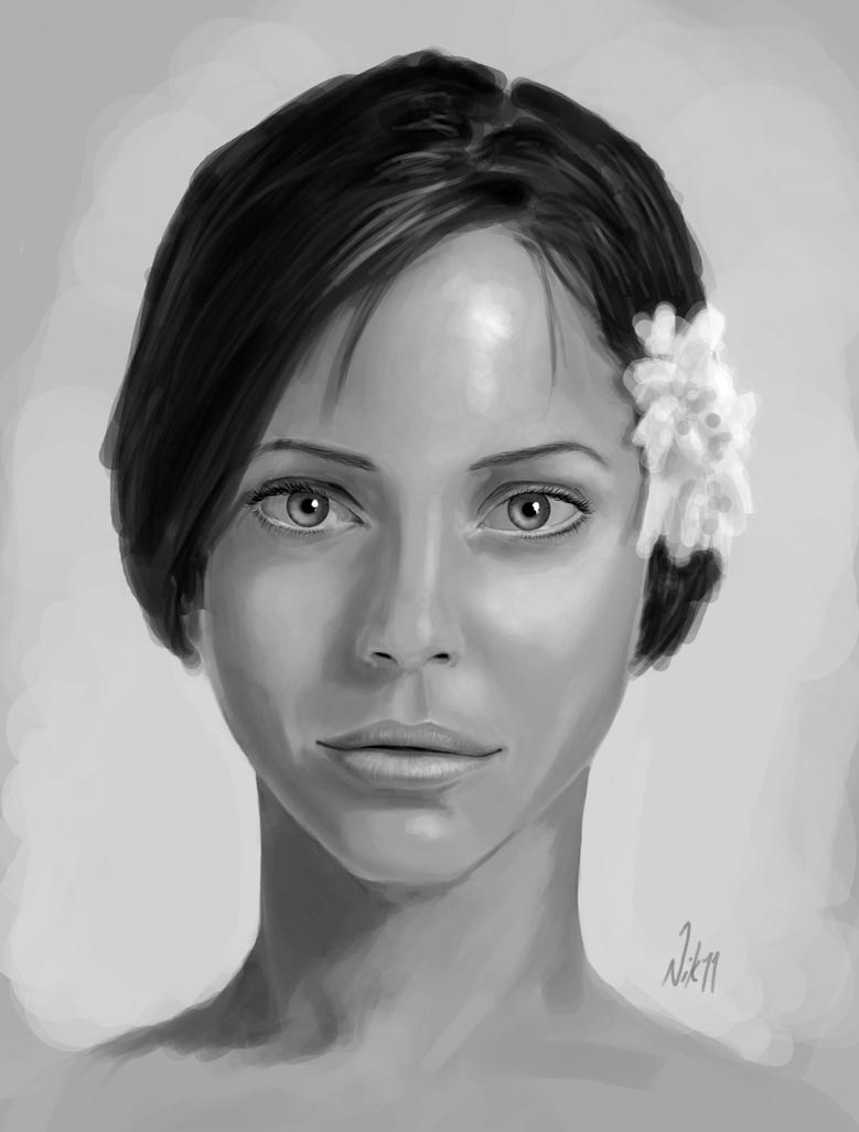 Face Sketch 1 by Nicksketch on DeviantArt