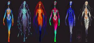 Catwalk-Alien Colour-Roughs