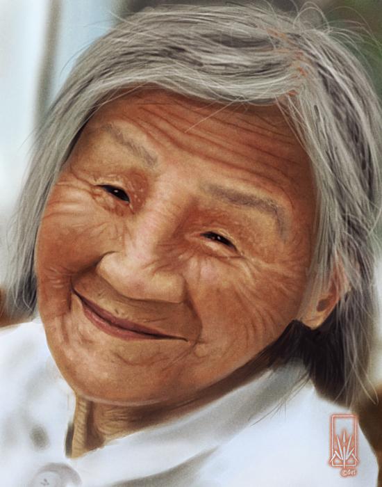 Old Lady by Nicksketch