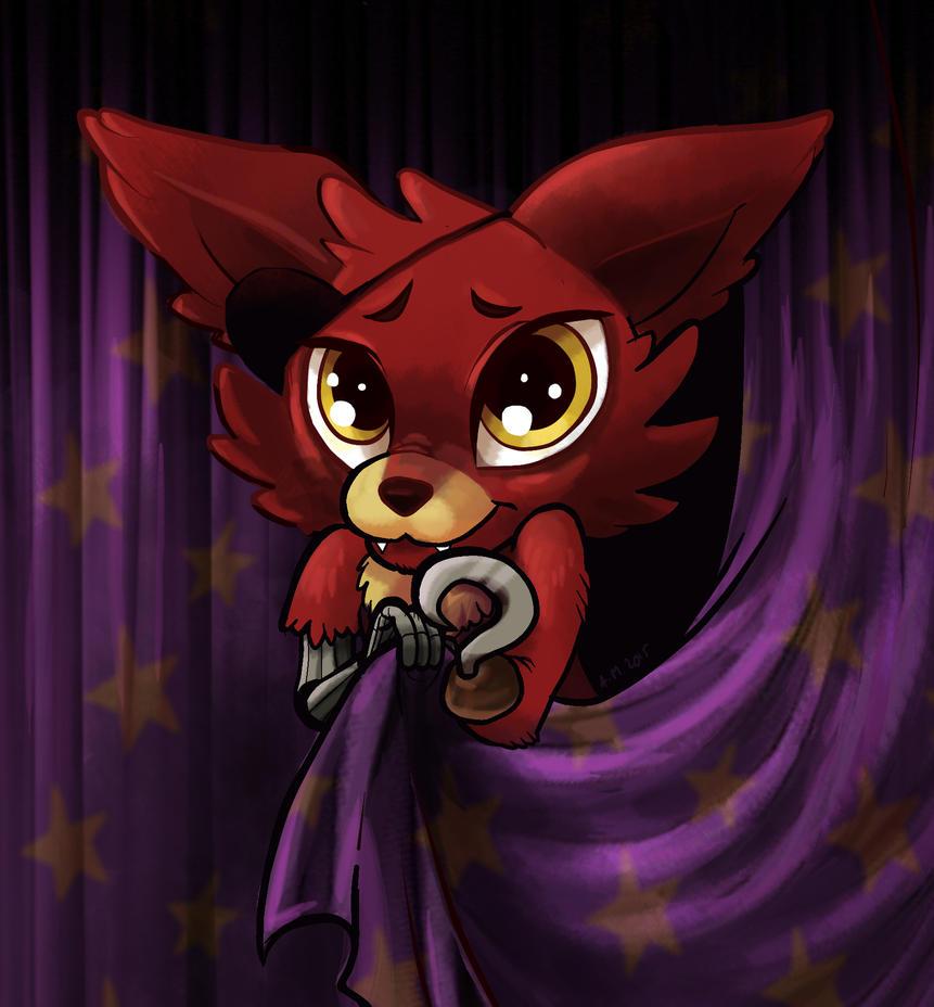 Kawaii contest fnaf 1 foxy by ylvanylan on deviantart - Fnaf cute pictures ...