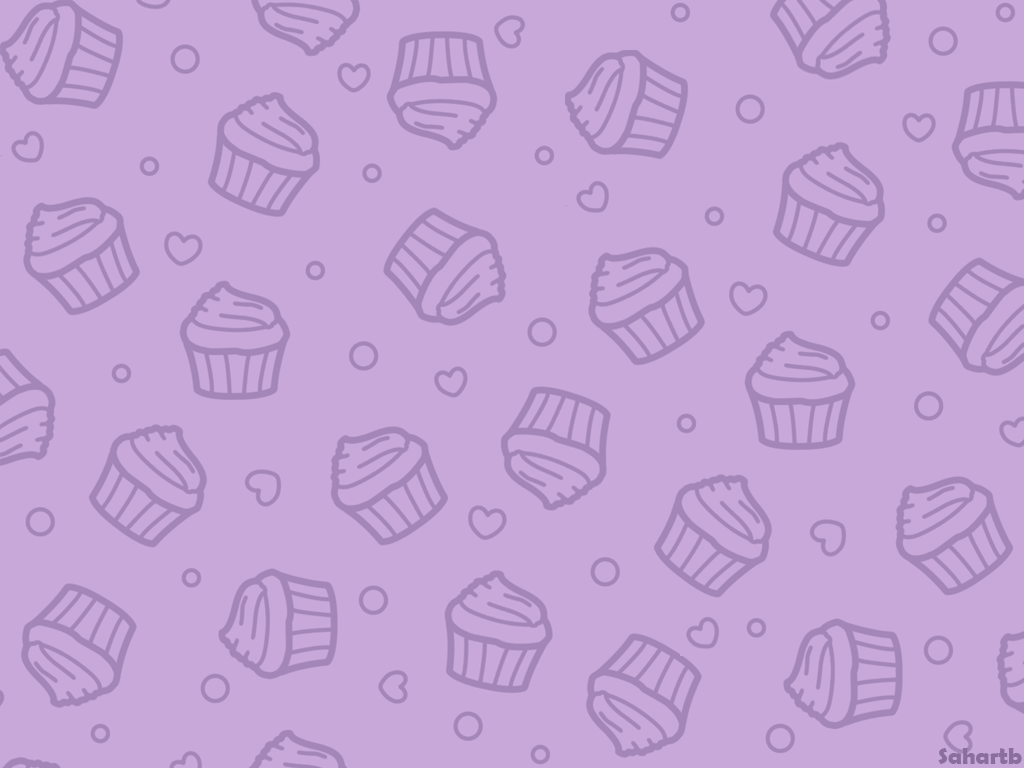Cupcake wallpaper (Purple) by sosogirl123 ...
