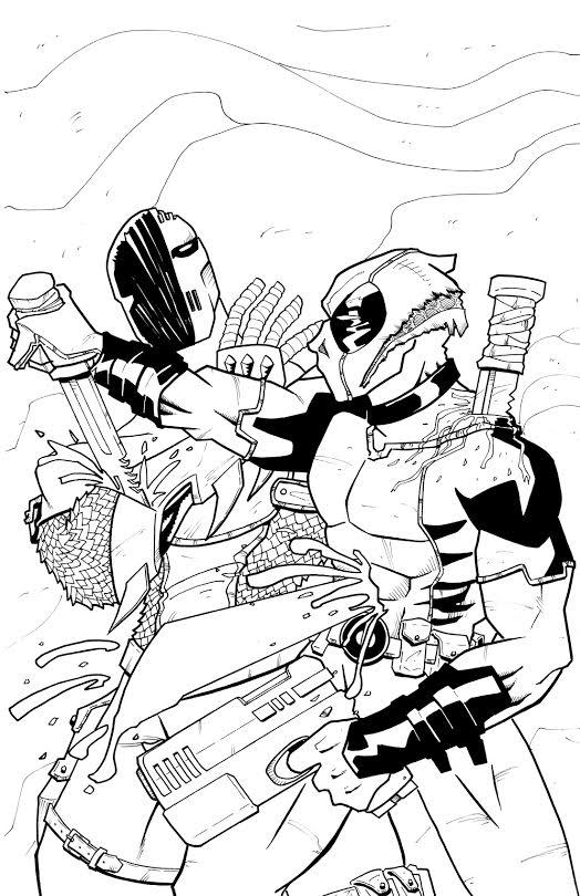 Deadpool Deathstroke by BankyStar