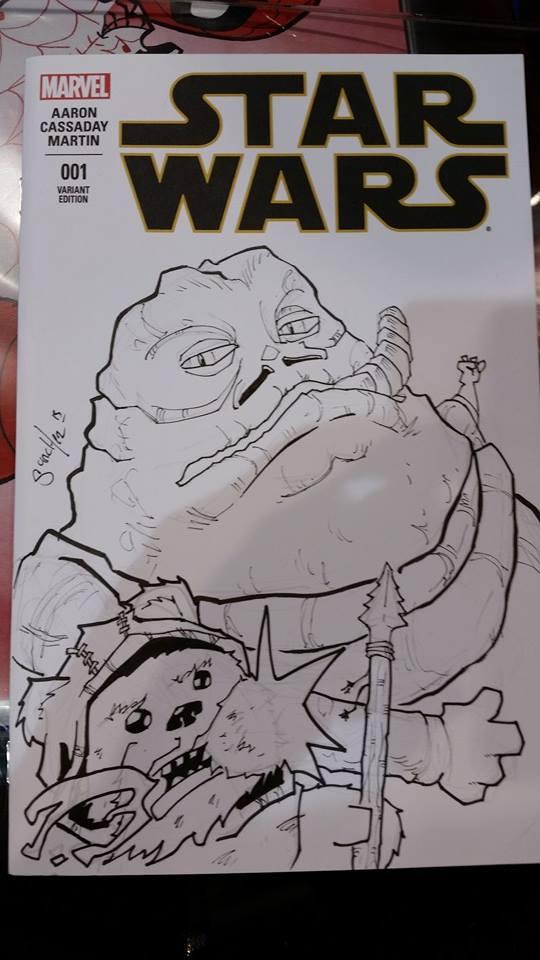 Jabba Sketch by BankyStar