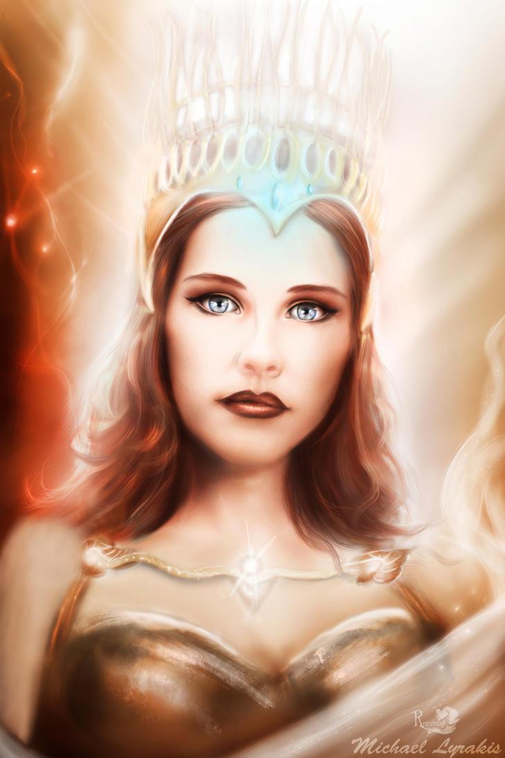 Athena Goddess by regretsmyl