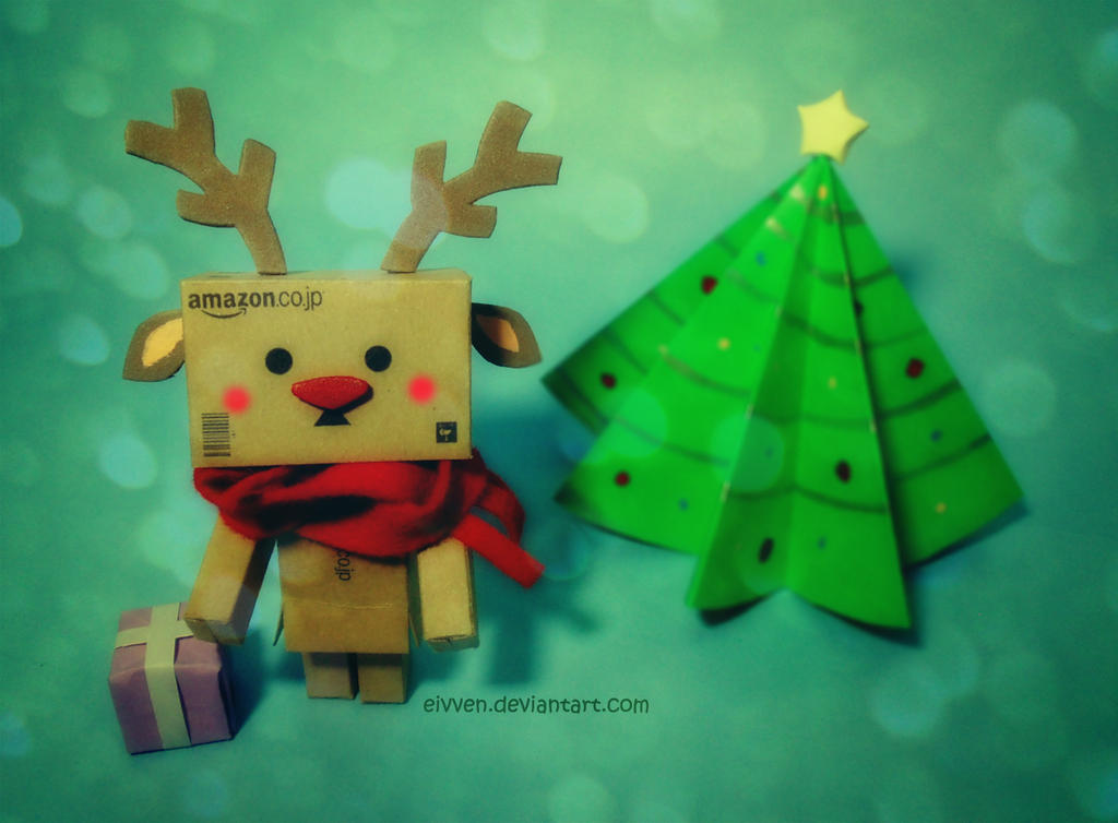 Danbo: Rudolf the Reindeer by eivven