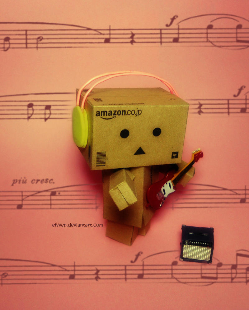 Danbo: Plug in by eivven