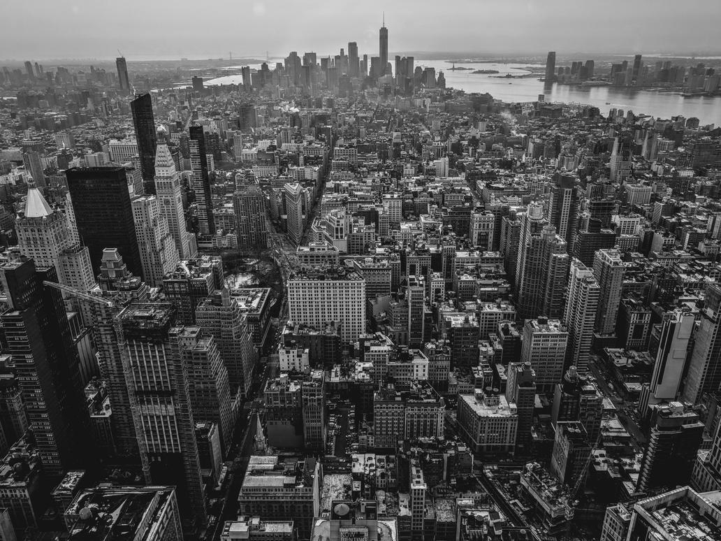 New York Skyline by legegg