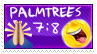 Palmtrees 7:8 stamp by suburbanwinemoms