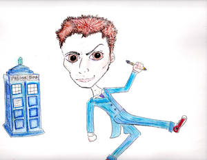 First Try at the Tenth Doctor