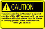 My caution sign by ScreamingNeonSilence