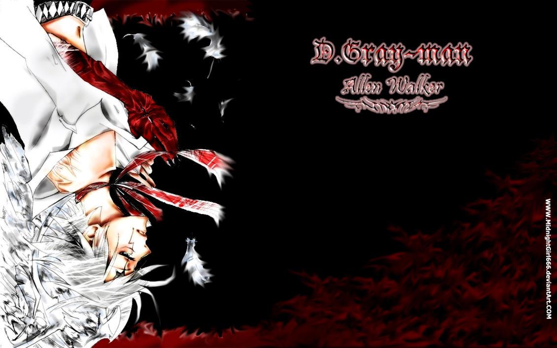 D-gray Man FanArt Allen_walker_crimson_wallpaper_by_midnightgirl666-d2yt60h