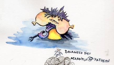 Balanced Diet by aszantu