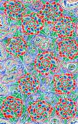 Flower pattern by aszantu