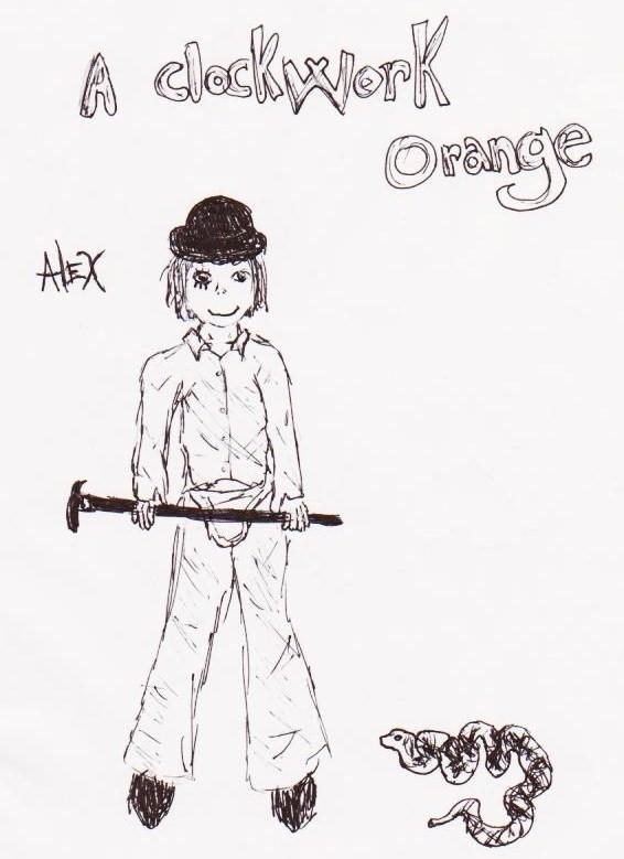 A ClockWork Orange by yom100