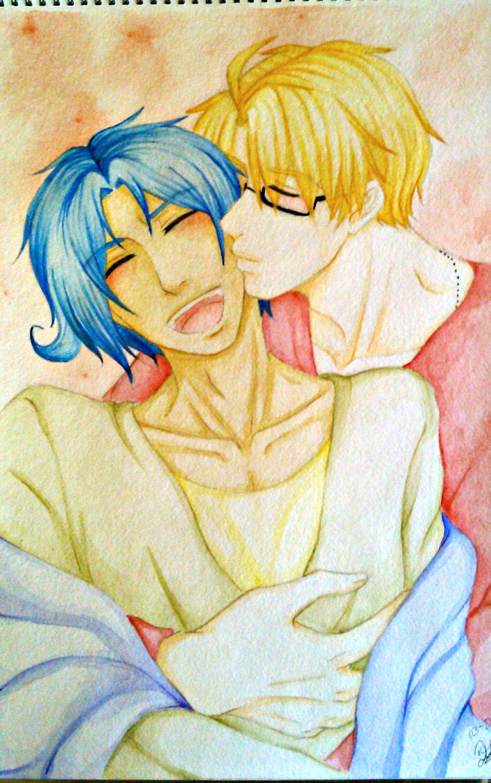 .:Just a Kiss:. by kiba-kun1289