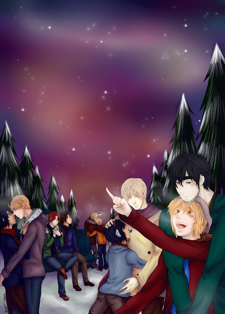 .:Stellar Night:. by kiba-kun1289
