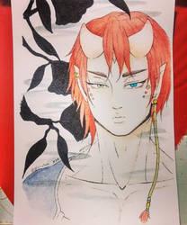 - Inktober 24 - Demon- by kiba-kun1289
