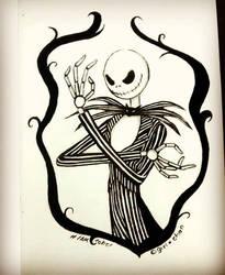 - Inktober 25 - Bones- by kiba-kun1289