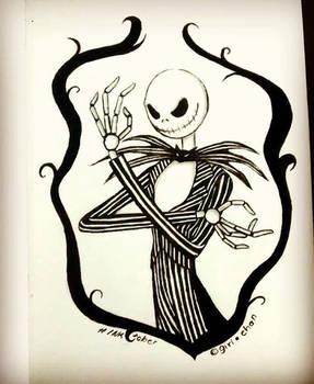 - Inktober 25 - Bones-