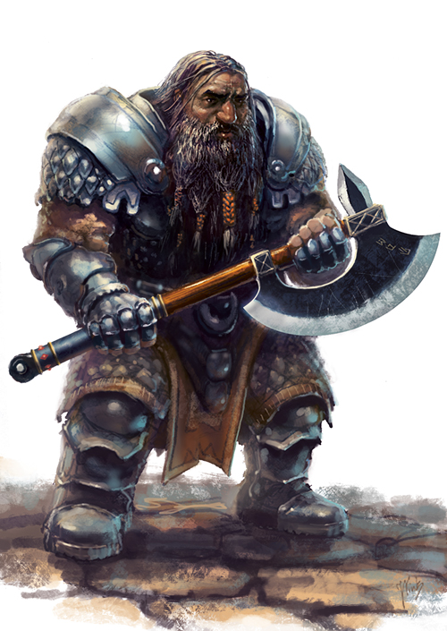 Amfisbena - Dwarf by gabahadatta