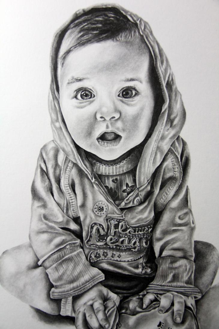 Baby child art portrai...