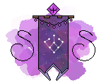 The Starlight Seekers' Clan Banner Mini Pixel by LunaNightSky
