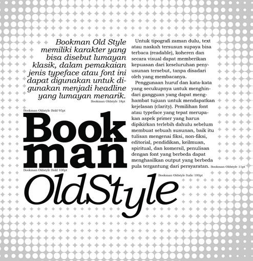 BookmanOldStyle