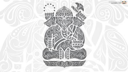 Ganesha Illustration