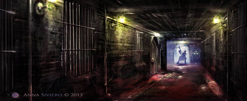Asylum - interior by Annika-86