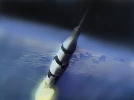 Saturn V Rocket by GeneralFOL