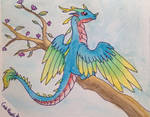 Dragons - Bird dragon