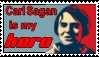 Carl Sagan is my hero - stamp by Abstract-scientist