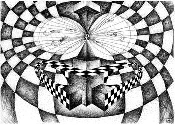 Superposition of Klein Bottles - Big Bang