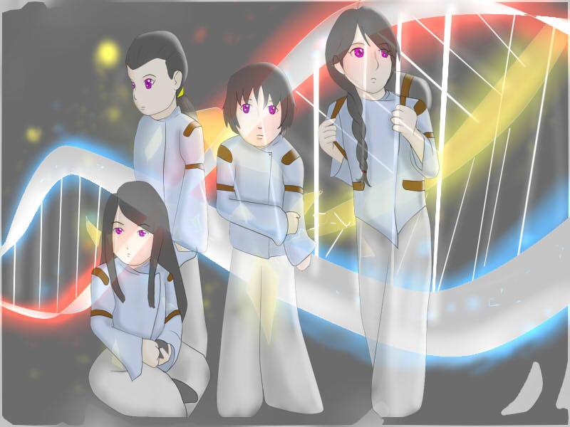 Helix And Hybrids by glitchxhavoc