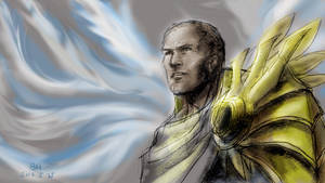 Tyrael by YeastSoldier