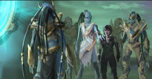 Sketch of The Dark Templar Saga Twilight