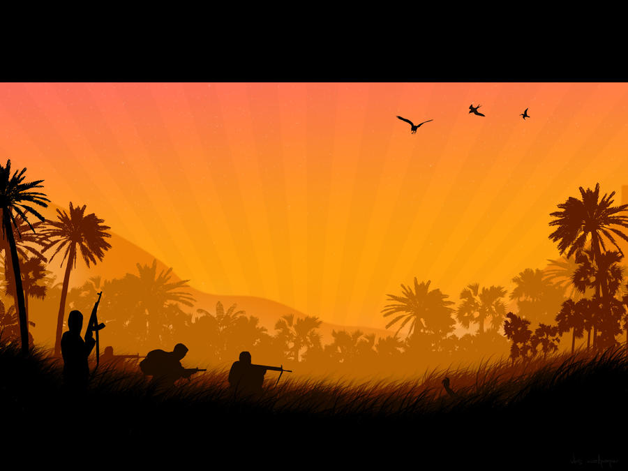 Run Through the Jungle by v-k-s