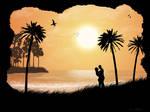 Newfound Love on the Beach