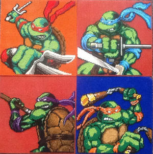 All Epic TMNT sewing patterns