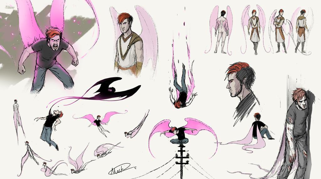 Darkiplier sketch by maskman626