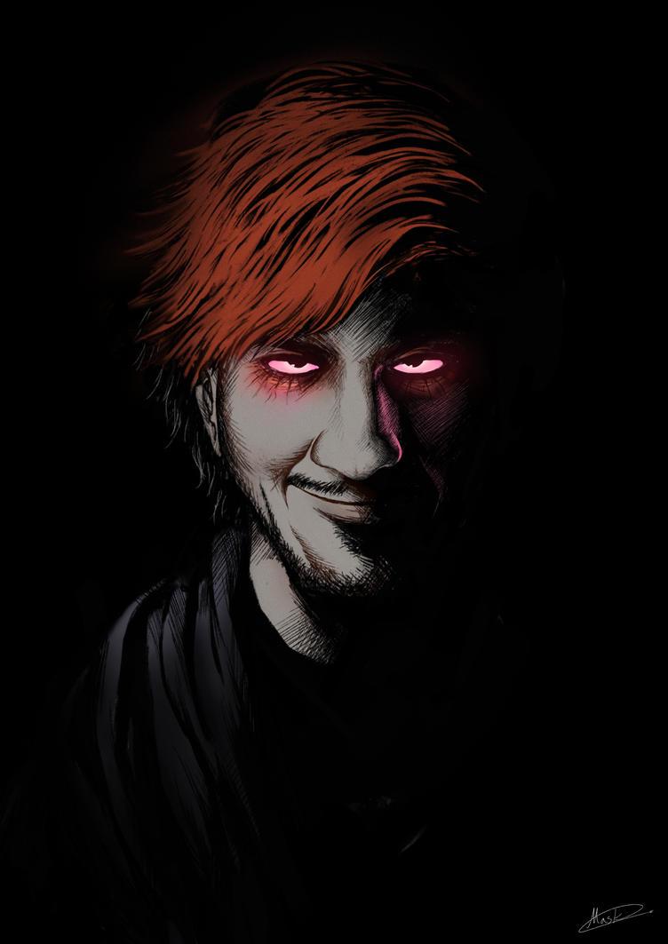 Dark's smile by maskman626