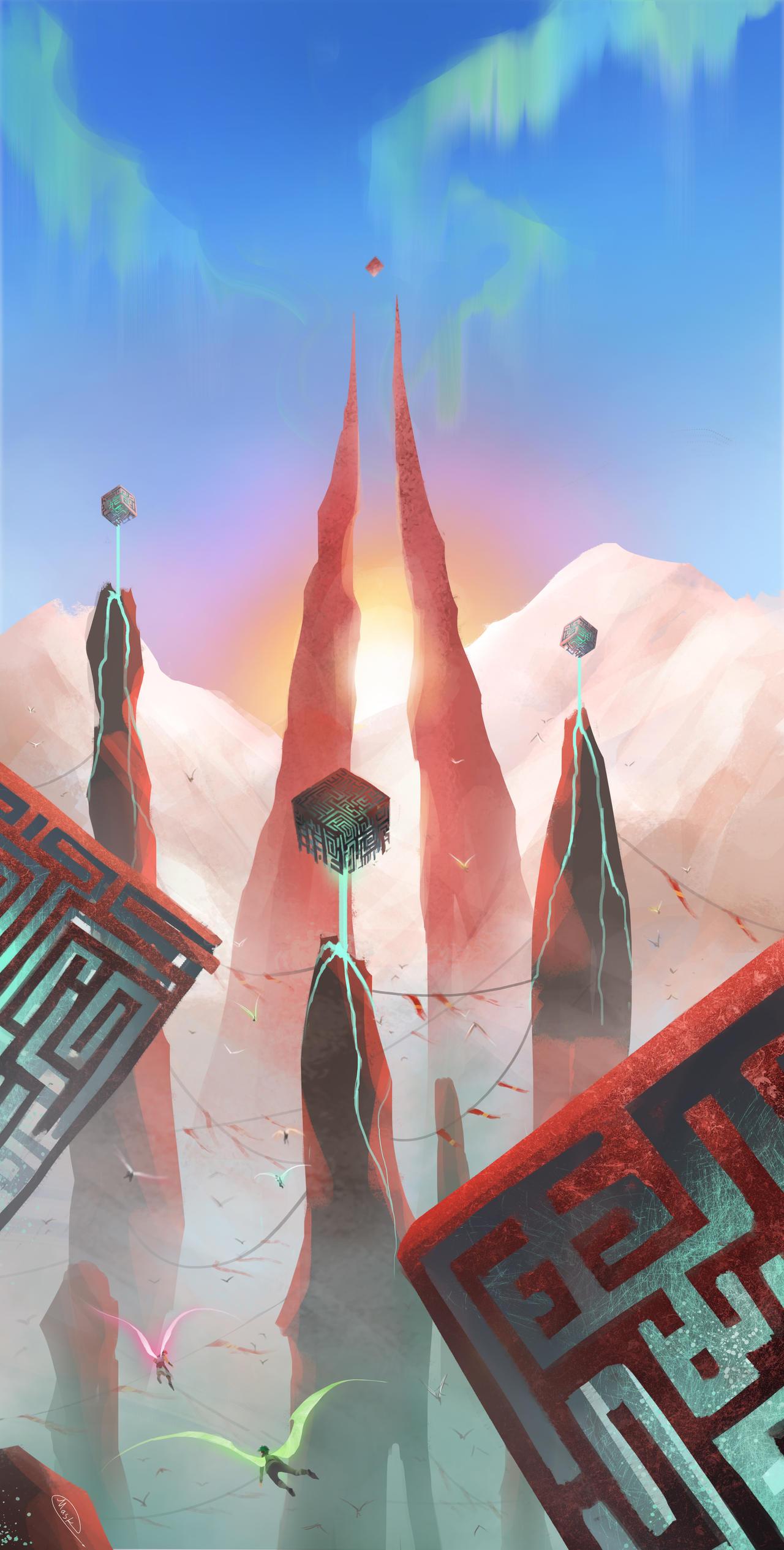 Sunrise (Anti's memory) by maskman626